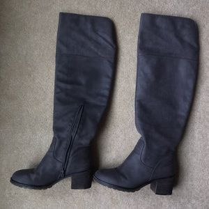 Rampage tall grey boots